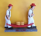 Figurine Cheese carriers Alkmaar_