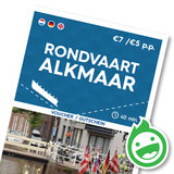 Rondvaart Alkmaar (kinderen t/m 10 jaar)_