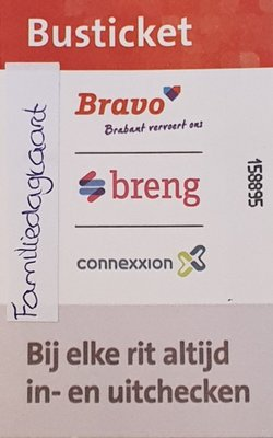 Busticket Connexxion (Familiedagkaart)