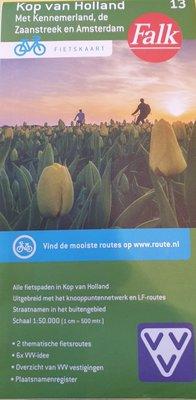 Kop van Holland met Kennemerland, de Zaanstreek en Amsterdam