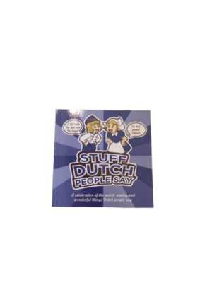 Boek Stuff Dutch people say