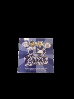 Book Stuff Dutch people say