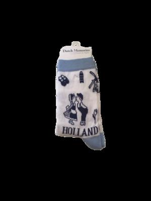 Sokken Holland kussend paar
