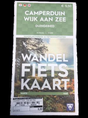 Dünenkarte Camperduin - Wijk aan Zee