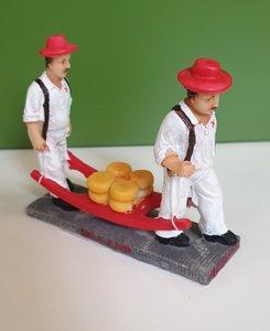 Figurine Cheese carriers Alkmaar