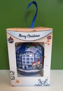 Kerstbal Grachtenpanden