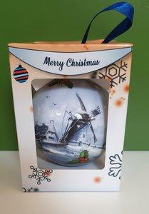 Kerstbal Hollandse molen