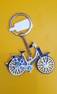 Sleutelhanger Delfts-Blauwe fiets