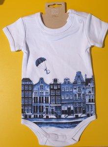 Baby romper Alkmaar canal houses