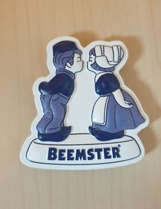 Magneet Beemster kissing couple