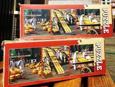 Puzzel Kaasmarkt Alkmaar