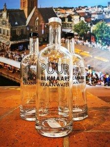 Puur Alkmaars kraanwater fles