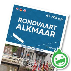 Rondvaart Alkmaar (kinderen t/m 10 jaar)